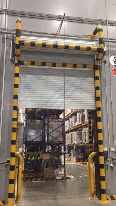 Рулонные противопожарные ворота FireRollGate EI60 в Логистическом комплексе